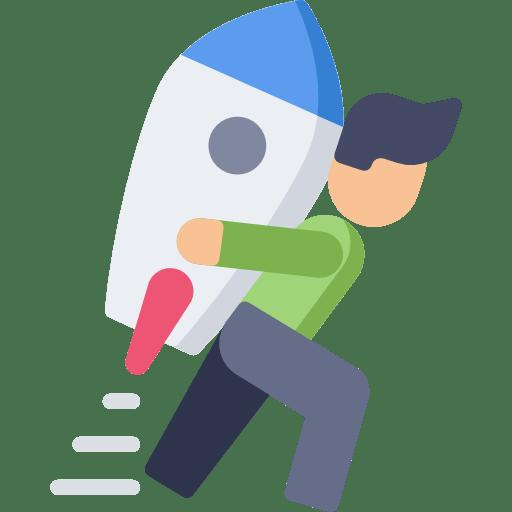 סמל של איש מחזיק טיל